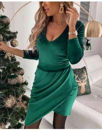 Φόρεμα - κώδ. 2129 - πράσινο