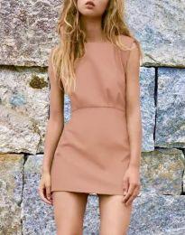 Φόρεμα - κώδ. 1233 - μπεζ