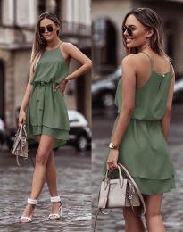 Φόρεμα - κώδ. 2104 - λαδί