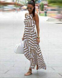 Φόρεμα - κώδ. 2903 - 4 - πολύχρωμο
