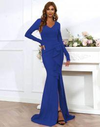 Φόρεμα - κώδ. 0574 - 4 - μπλε