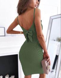 Φόρεμα - κώδ. 0987 - λαδί