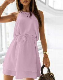 Φόρεμα - κώδ. 9968 - μωβ