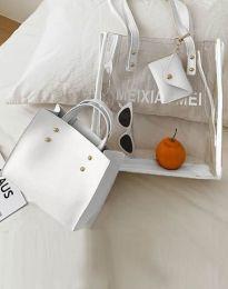 Τσάντα - κώδ. B304 - λευκό