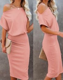 Φόρεμα - κώδ. 1737 - ροζ