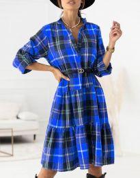 Φόρεμα - κώδ. 6842 - μπλε