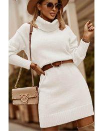 Φόρεμα - κώδ. 8668 - λευκό