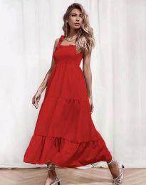 Φόρεμα - κώδ. 1729 - κόκκινο