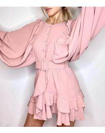 Φόρεμα - κώδ. 6299 - ροζ