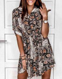 Φόρεμα - κώδ. 6910 - πολύχρωμο