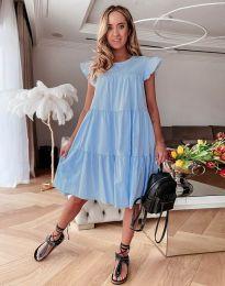 Φόρεμα - κώδ. 2666 - γαλάζιο