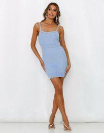 Φόρεμα - κώδ. 10099 - γαλάζιο
