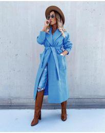 Παλτό - κώδ. 5877 - μπλε