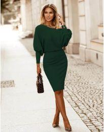 Φόρεμα - κώδ. 2242 - σκούρο πράσινο