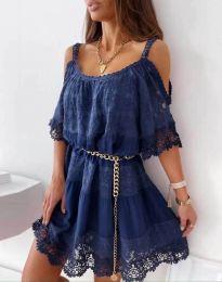 Φόρεμα - κώδ. 6954 - σκούρο μπλε