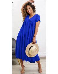 Φόρεμα - κώδ. 4475 - σκούρο μπλε