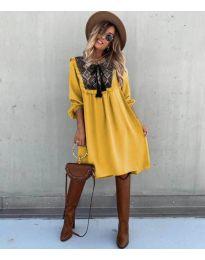 Φόρεμα - κώδ. 958 - μουσταρδί