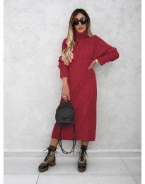 Φόρεμα - κώδ. 0590 - μπορντό