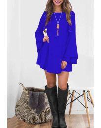Φόρεμα - κώδ. 8102 - μπλε