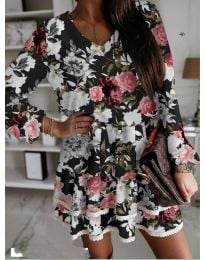 Φόρεμα - κώδ. 105 - μαύρο