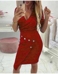 Φόρεμα - κώδ. 415 - κόκκινο