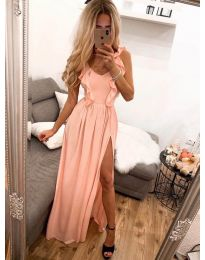 Φόρεμα - κώδ. 673 - ροδακινί