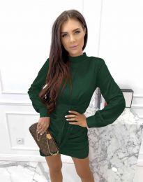Φόρεμα - κώδ. 0233 - σκούρο πράσινο