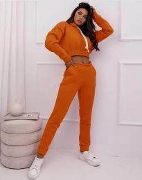 Αθλητικό σετ - κώδ. 11623 - πορτοκαλί