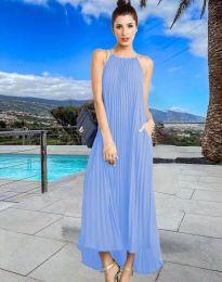 Φόρεμα - κώδ. 6999 - γαλάζιο