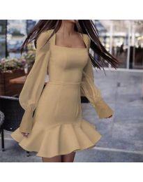 Φόρεμα - κώδ. 3605 - Μπεζ