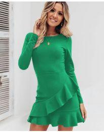 Φόρεμα - κώδ. 2909 - πράσινο