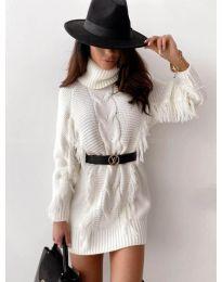 Φόρεμα - κώδ. 0810 - λευκό