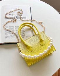 Τσάντα - κώδ. B436 - κίτρινο