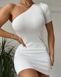 Φόρεμα - κώδ. 2419 - λευκό