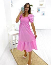 Φόρεμα - κώδ. 3283 - 1 - ροζ