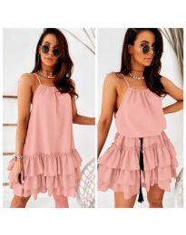 Φόρεμα - κώδ. 451 - ροζ
