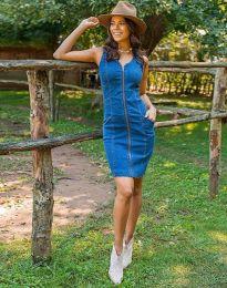 Φόρεμα - κώδ. 7735 - 1 - μπλε