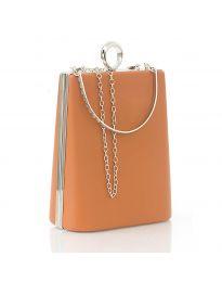 Τσάντα - κώδ. 9988 - πορτοκαλί