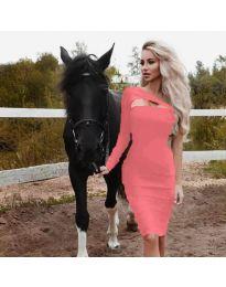 Φόρεμα - κώδ. 955 - ροδακινί