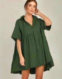 Φόρεμα - κώδ. 6464 - χακί