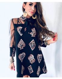 Φόρεμα - κώδ. 212 - μαύρο