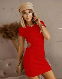Φόρεμα - κώδ. 8556 - κόκκινο