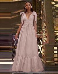 Φόρεμα - κώδ. 2743 - απαλό ροζ