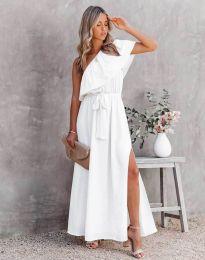 Φόρεμα - κώδ. 33511 - 1 - λευκό