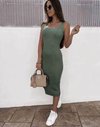 Φόρεμα - κώδ. 5964 - λαδί