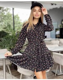 Φόρεμα - κώδ. 6555 - 2 - πολύχρωμο