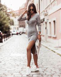 Φόρεμα - κώδ. 6593 - γκρι