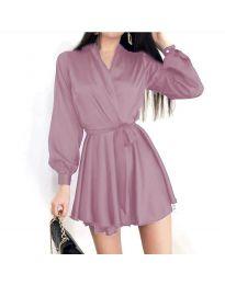 Φόρεμα - κώδ. 8745 - ανοιχτό μωβ