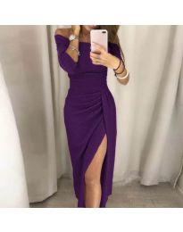 Φόρεμα - κώδ. 6045 - μωβ
