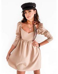 Φόρεμα - κώδ. 390 - μπεζ